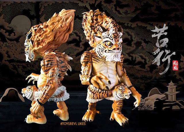 Skiinmode Oni Warrior Blogspot: 龍虎 Edition ONI WARRIOR By Steve Choi X William Tsang X