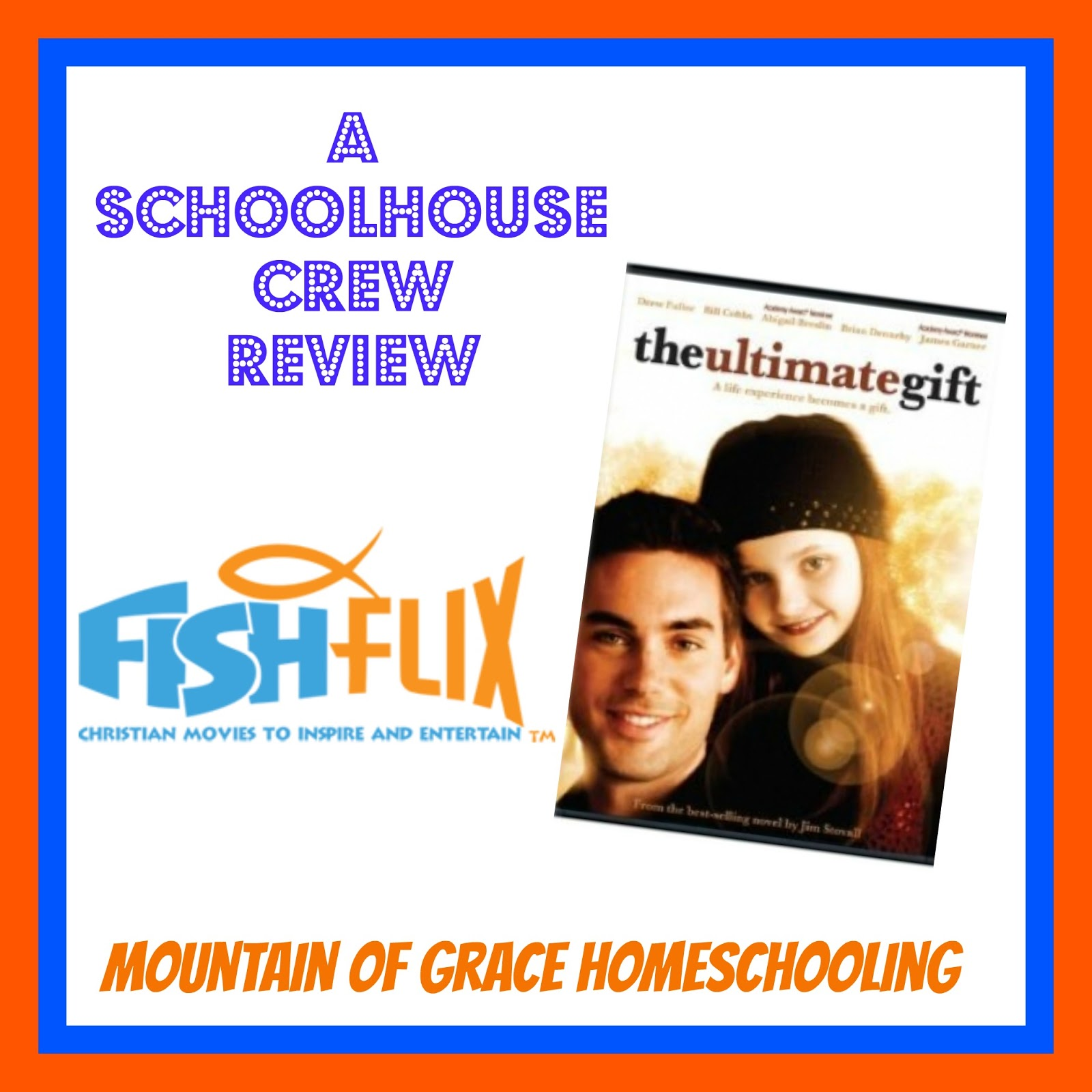 Mountain of Grace Homeschooling: TOS Review~ The Ultimate Gift ...