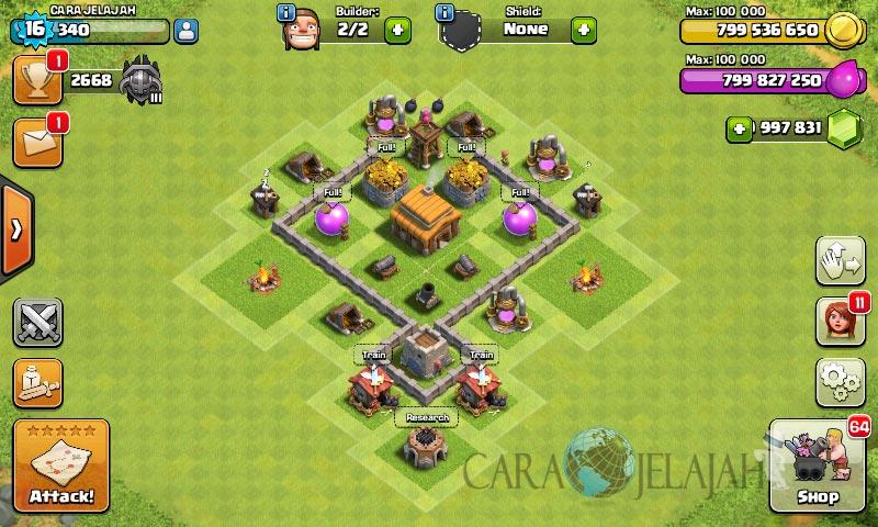 Desain Base Town Hall 3 Terbaik Dan Terbaru Clash Of Clans 23