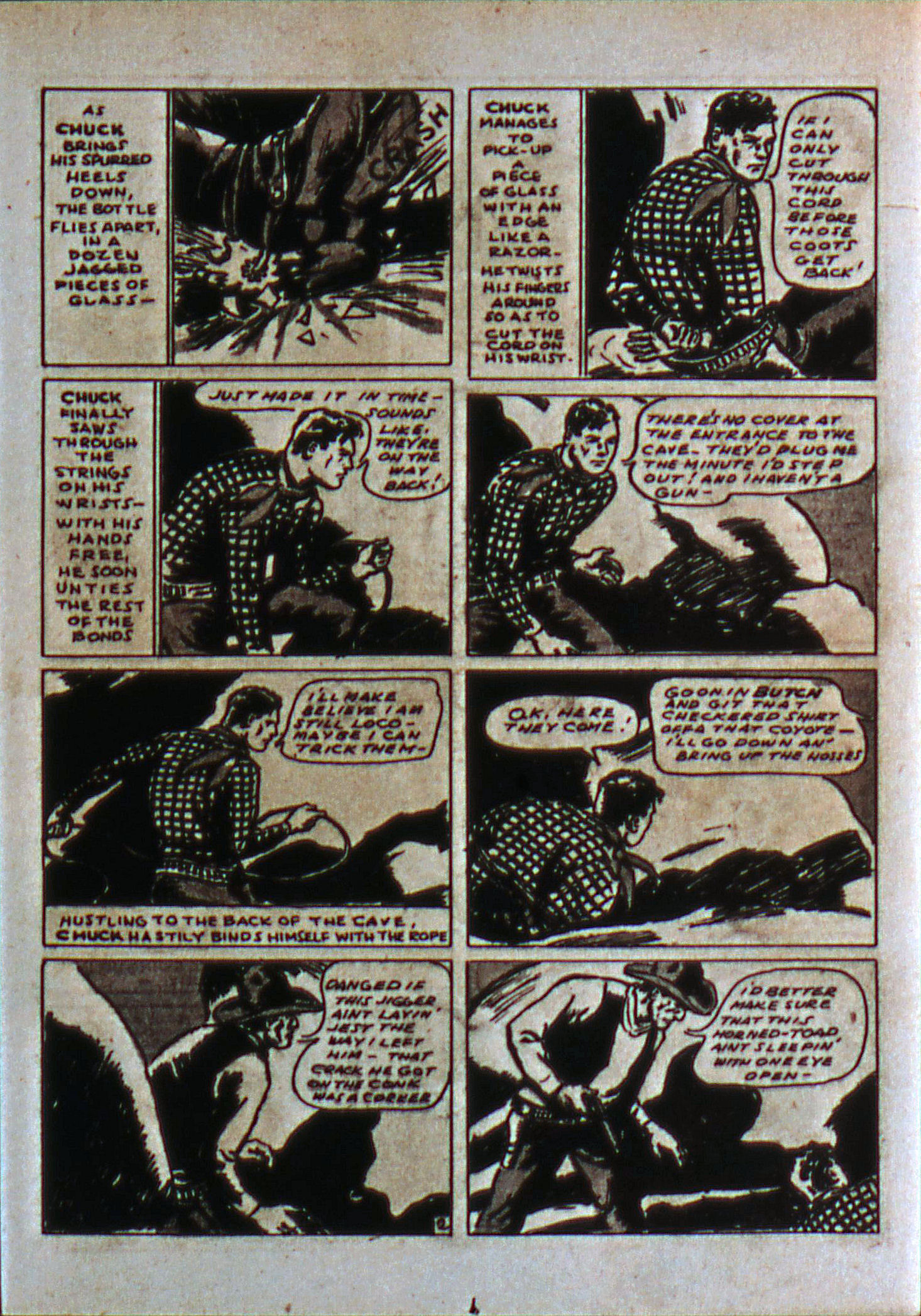 Read online Action Comics (1938) comic -  Issue #6 - 18