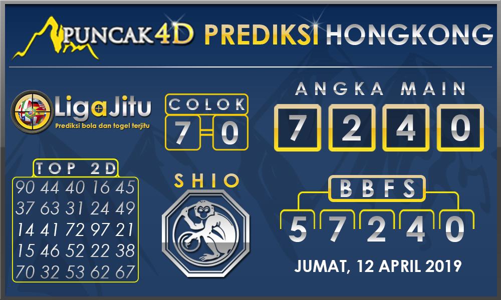 PREDIKSI TOGEL HONGKONG PUNCAK4D 12 APRIL 2019