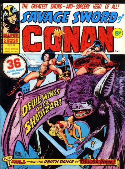 Marvel UK, Conan the Barbarian #6, Devil Wings Over Shadizar