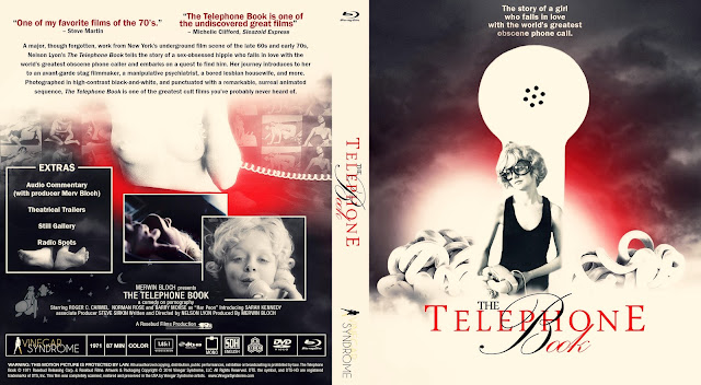 The Telephone Book Bluray Cover