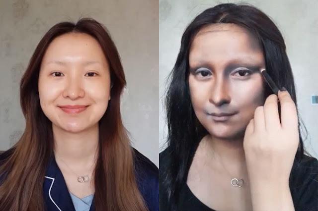 makeup monalisa