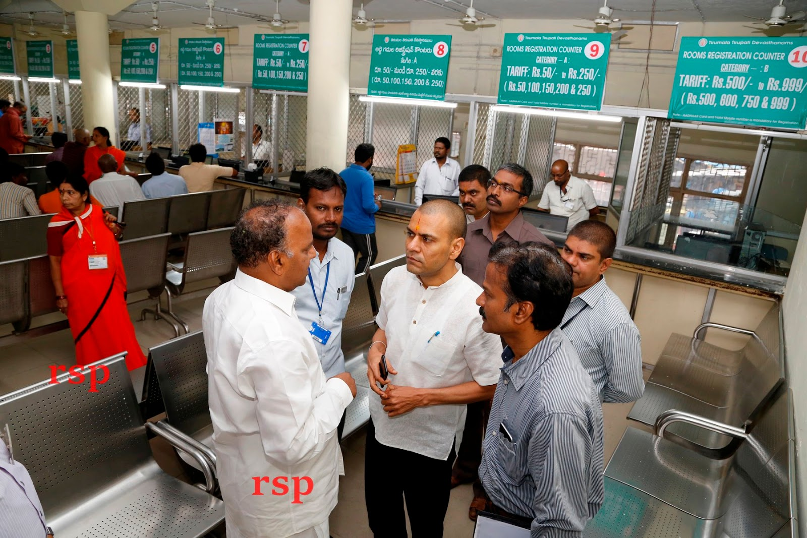 rspnetwork in: TTD Eo Inspects CRO Allotment Counters