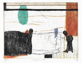 Georg Bothe: Pretty Vacant LII, II/VI, Farbradierung, 2009