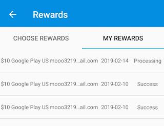 افضل تطبيق ربح بطاقات جوجل بلاي مع اثبات السحب