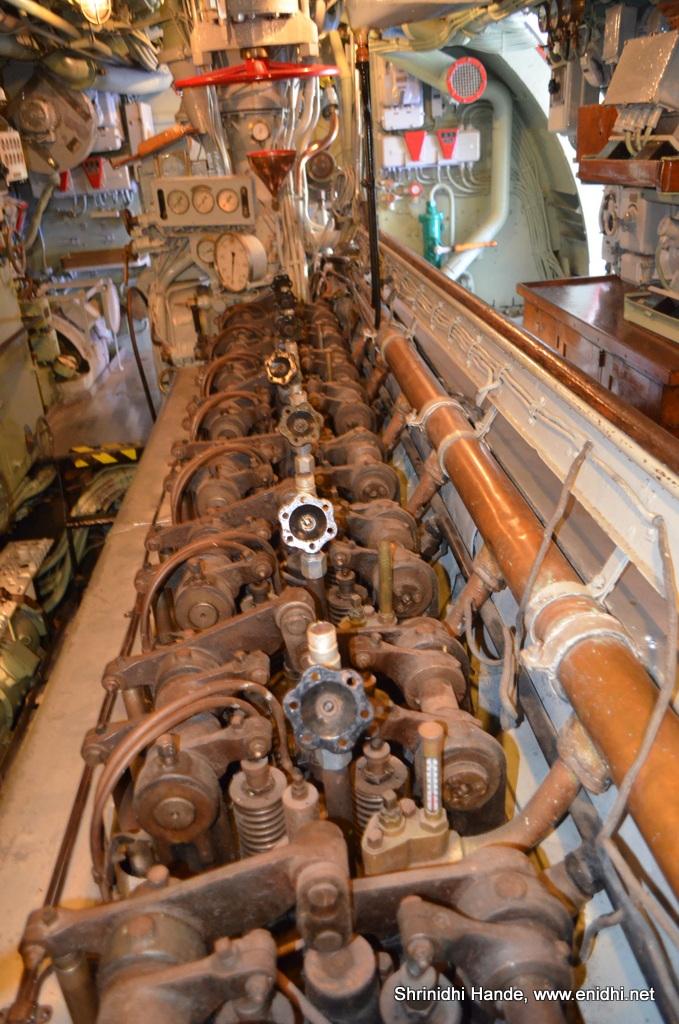 Swedish Submarine U3 Inside Out Enidhi India Travel Blog