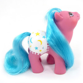 MLP Baby Starburst Year Seven Baby Fancy Pants Ponies G1 Pony