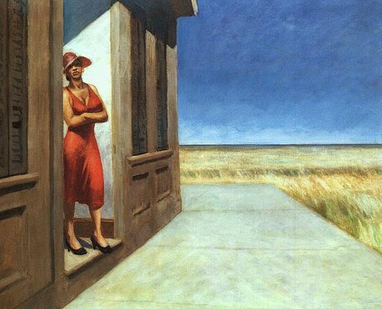 Manhã na Carolina do Sul - Edward Hopper e suas principais pinturas ~ O pintor da solidão