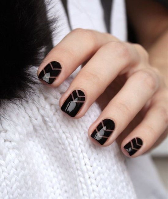 5 Shockingly Simple Geometric Nail Art Ideas You Ll Love