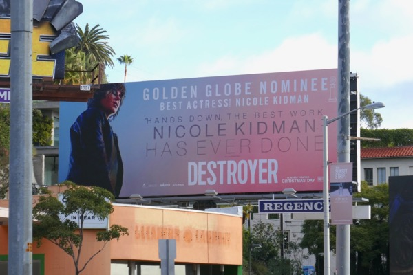 Destroyer Golden Globe billboard