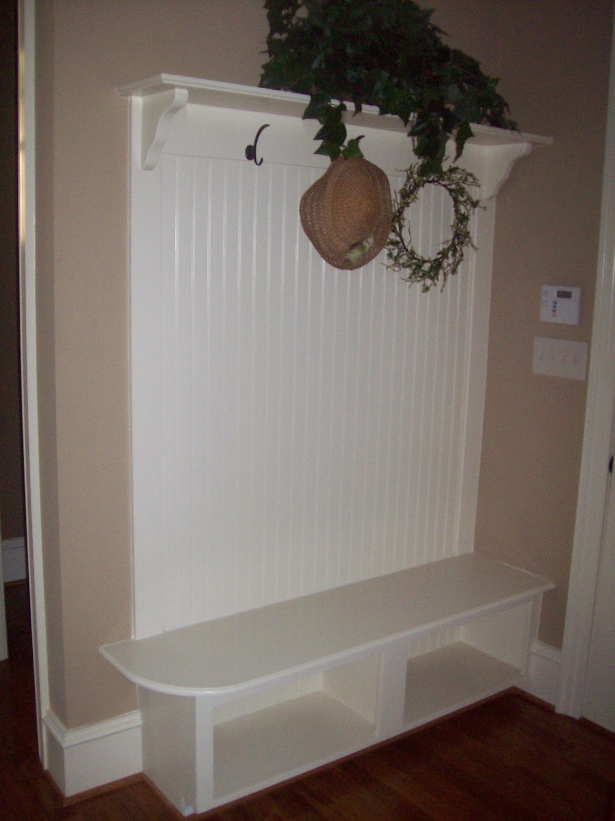 Woodmaster Woodworks Inc Bench Warming Built In