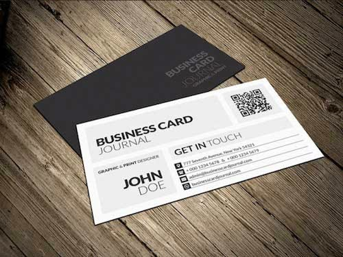 Creative & Modern Metro Business Card Template