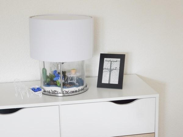 DIY : lampe terrarium