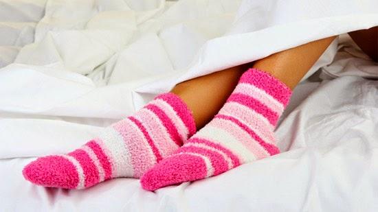 usar meias para dormir