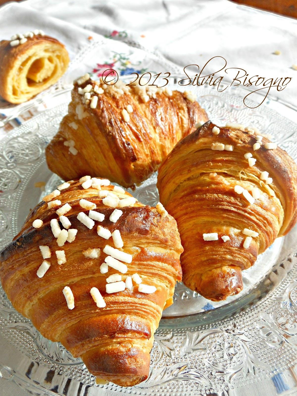 Dans ma cuisine croissant al farro integrale e olio for Cuisine integrale