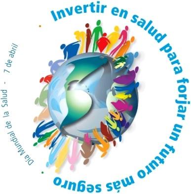 Dibujo del Día Mundial de la Salud a colores