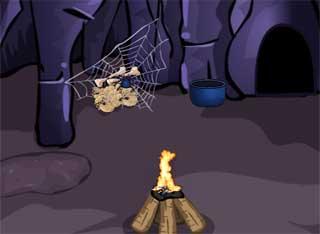 Witch Cave Treasure Escape es un juego de escape online