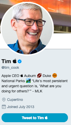 Tim Apple/Tim Cook