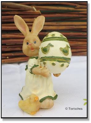 Osterhasenmädchen