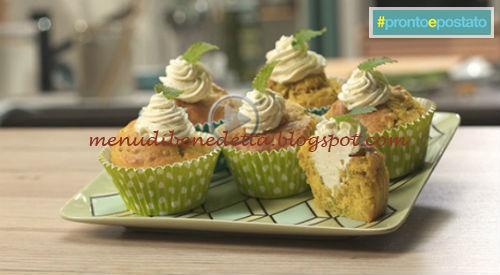 Pronto e postato - Muffin di zucchine e menta ricetta Benedetta Parodi