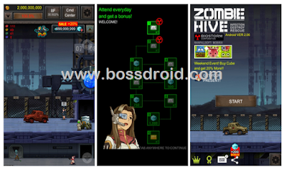 Download Game Zombie Hive APK MOD V2.06 Terbaru 2016
