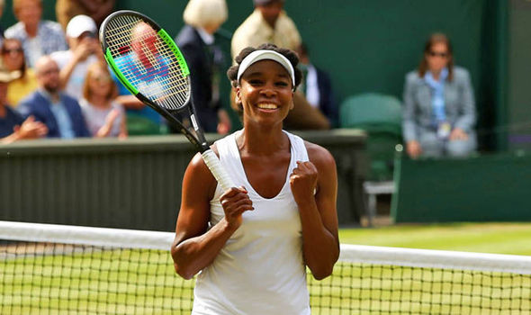Venus Williams advances to her first Wimbledon championships final since 2009