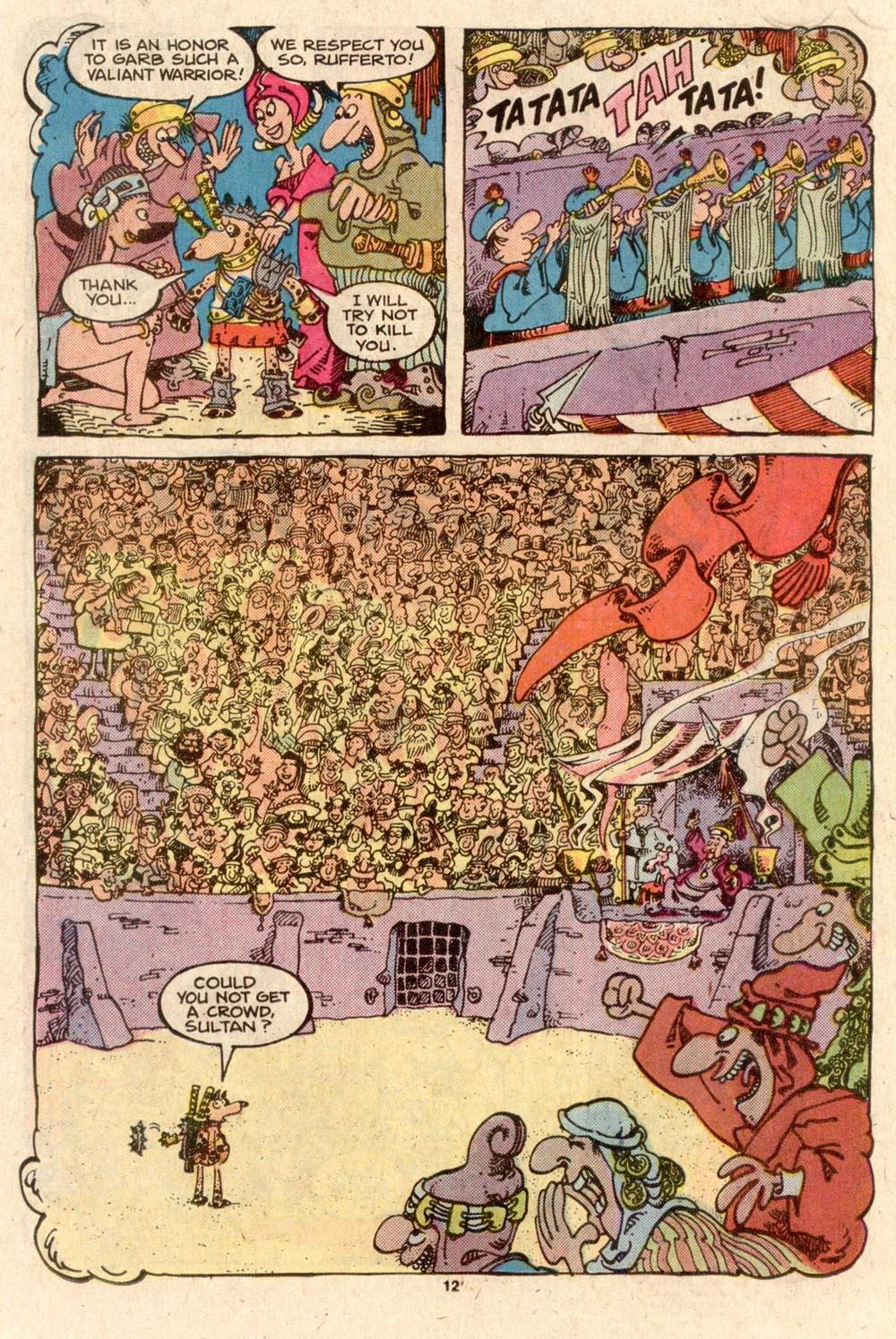 Read online Sergio Aragonés Groo the Wanderer comic -  Issue #44 - 12