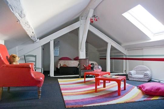welcome to my wonderland am nager les combles id es et astuces. Black Bedroom Furniture Sets. Home Design Ideas