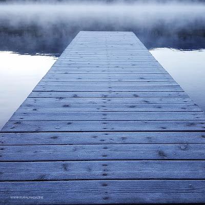 Pier with frost www.ruralmag.com