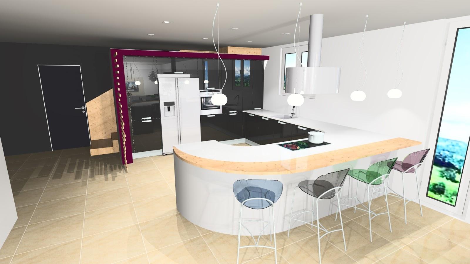 gara cuisine perspective cuisine design. Black Bedroom Furniture Sets. Home Design Ideas