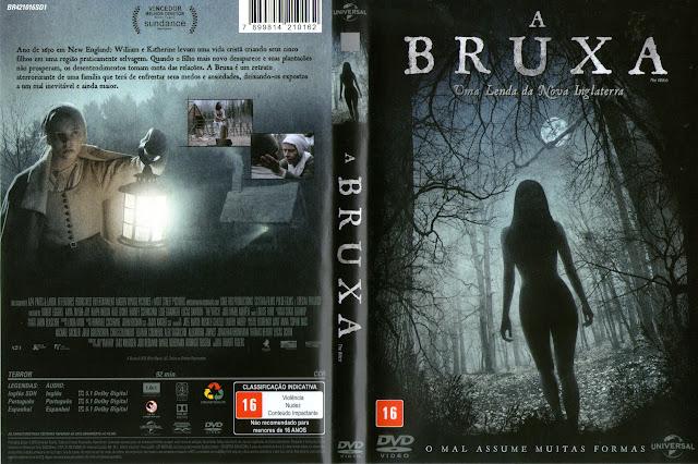 Capa DVD A Bruxa