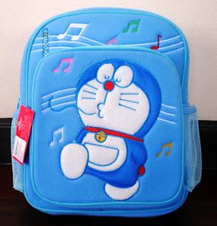 Contoh Tas Sekolah Gambar Doraemon