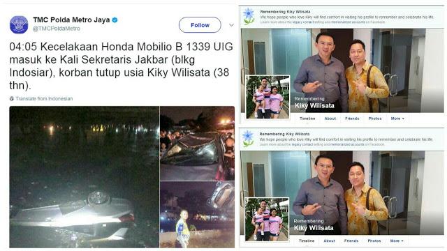 Kisah Ahoker Nyungsep Di Kali Dan Tewas Dalam Sungai, Pas Dicek Facebooknya Ternyata....