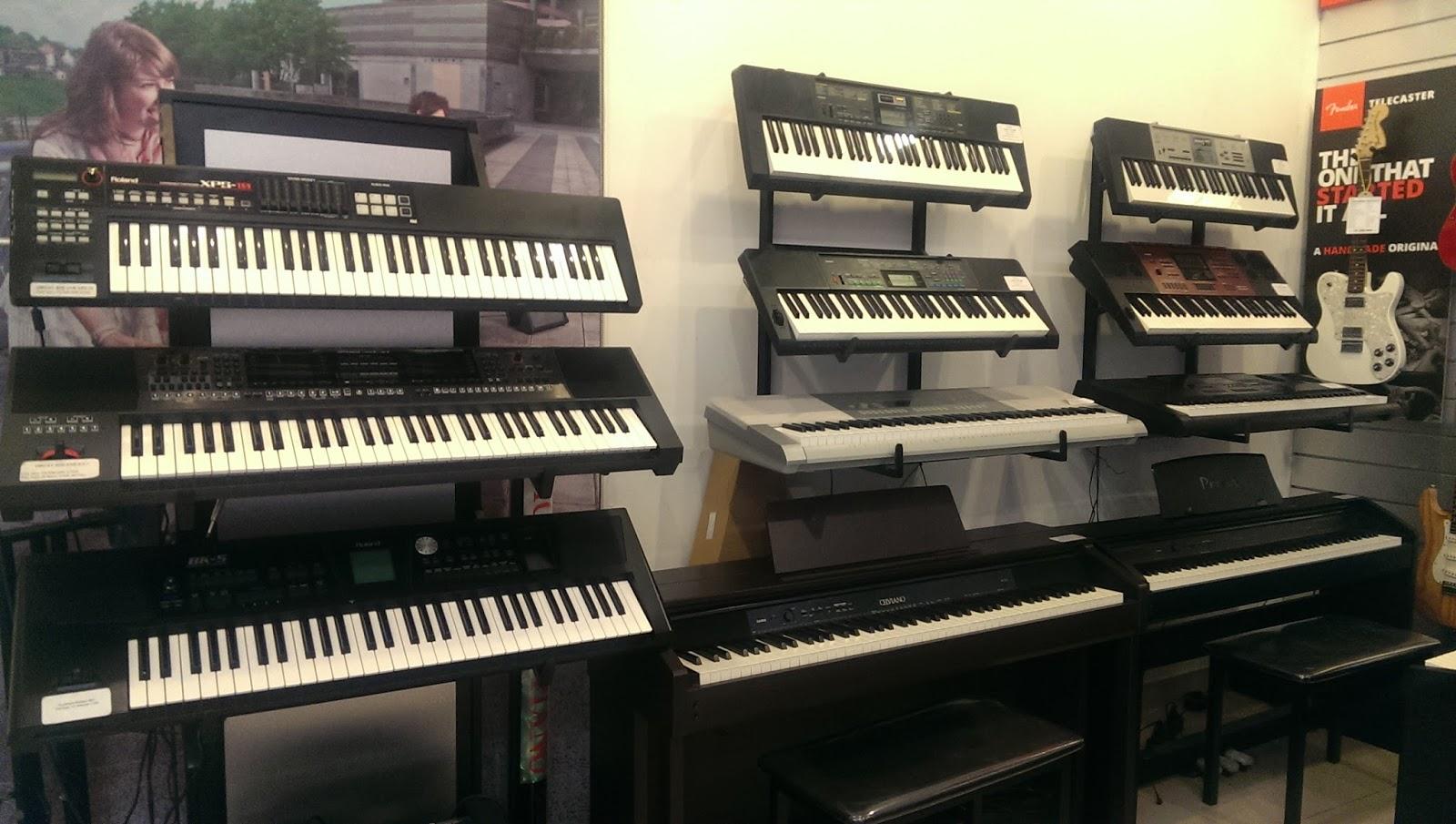 Shop bán đàn organ chính hãng cực chất tại Quận 2