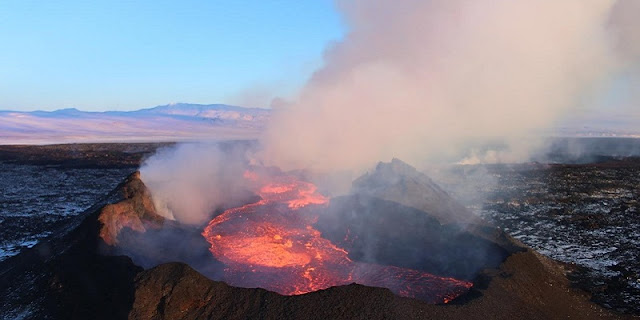 Climate change could increase volcano eruptions