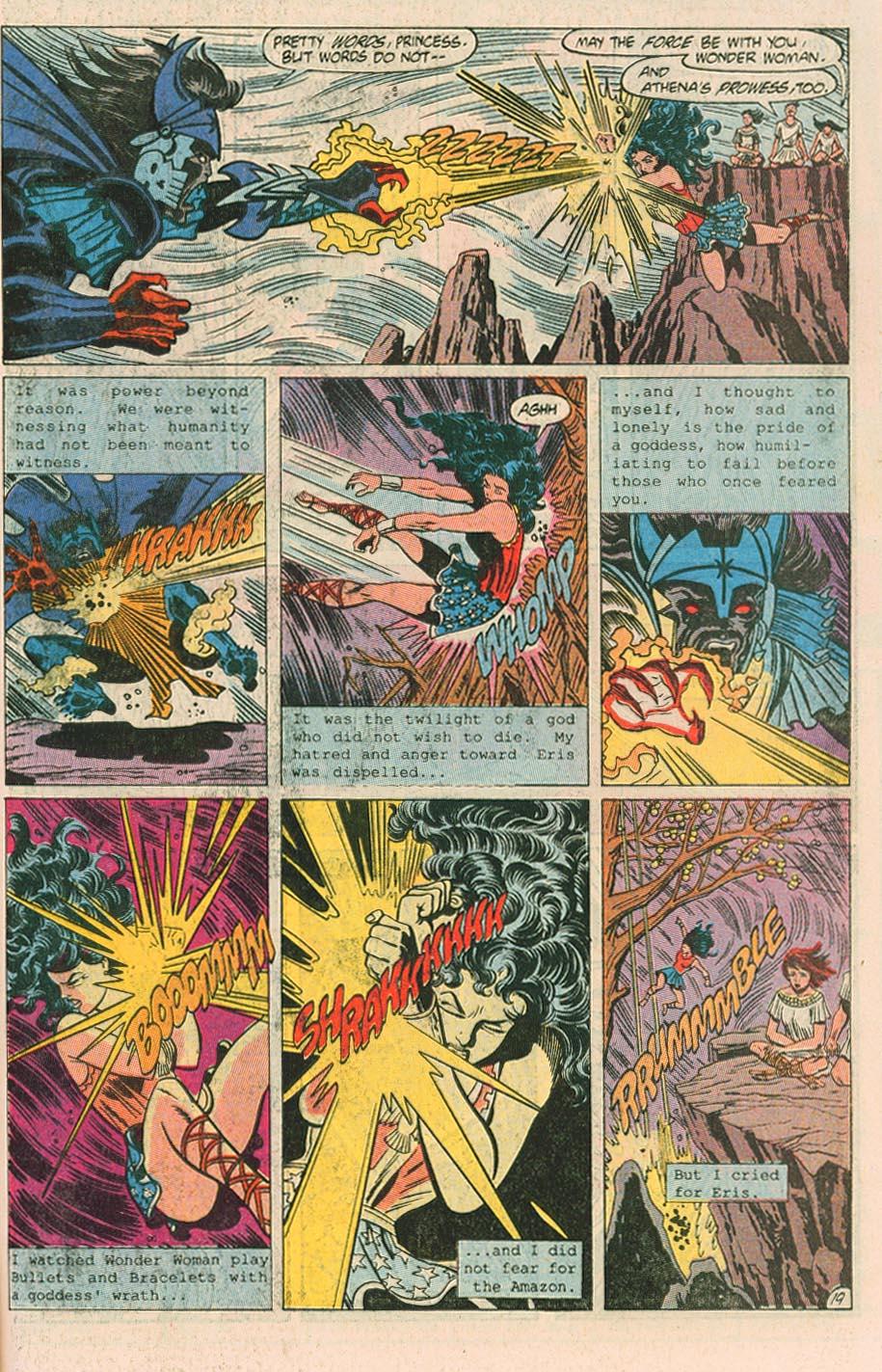 Read online Wonder Woman (1987) comic -  Issue #40 - 21