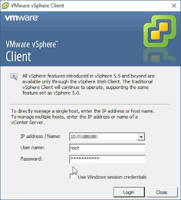 Perkenalan dan Installasi VMWare vSphere Client Windows