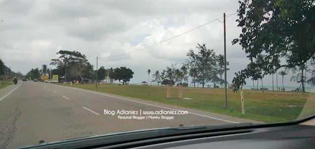 Izzat, Ombak Besar Di Pantai Timur & Celup Tepung