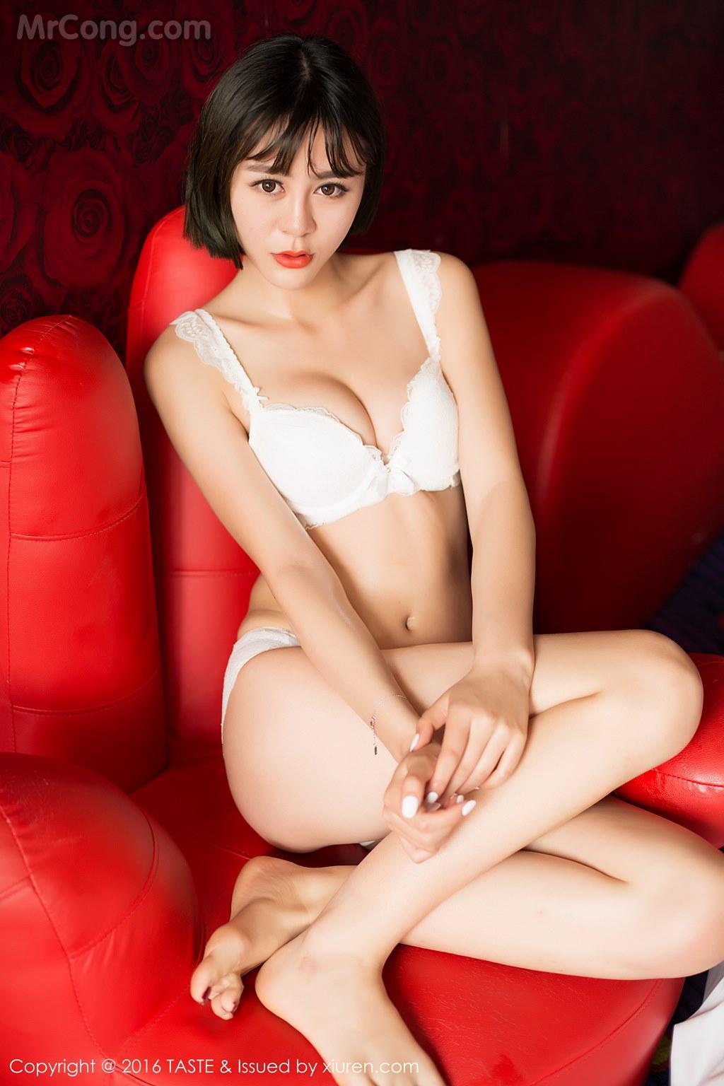 Image MrCong.com-TASTE-Vol.014-Wang-Meng-Meng-003 in post TASTE Vol.014: Người mẫu Wang Meng Meng (汪萌萌) (45 ảnh)