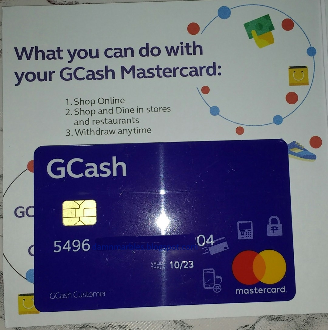 How to Apply for Globe Gcash Mastercard ATM card (EMV) 2018