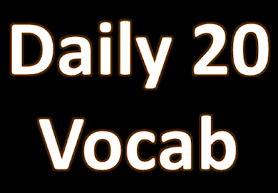 Day 18 - Vocabulary - Daily Use Words