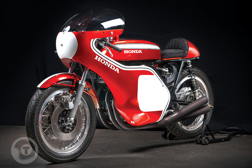 as close as it gets honda cr750 replica return of the cafe racers. Black Bedroom Furniture Sets. Home Design Ideas