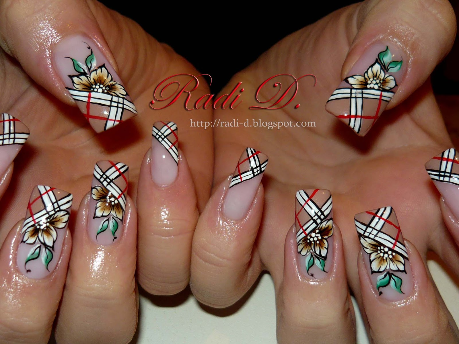 It S All About Nails Burberry Nails