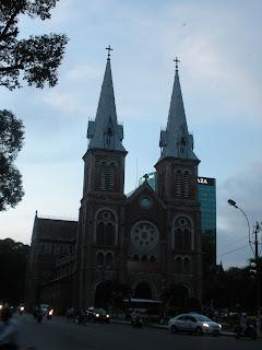 Cattedrale di Città Ho Chi Minh. Vietnam