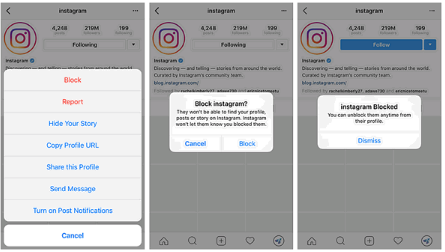 How To Unblock Someone In Instagram