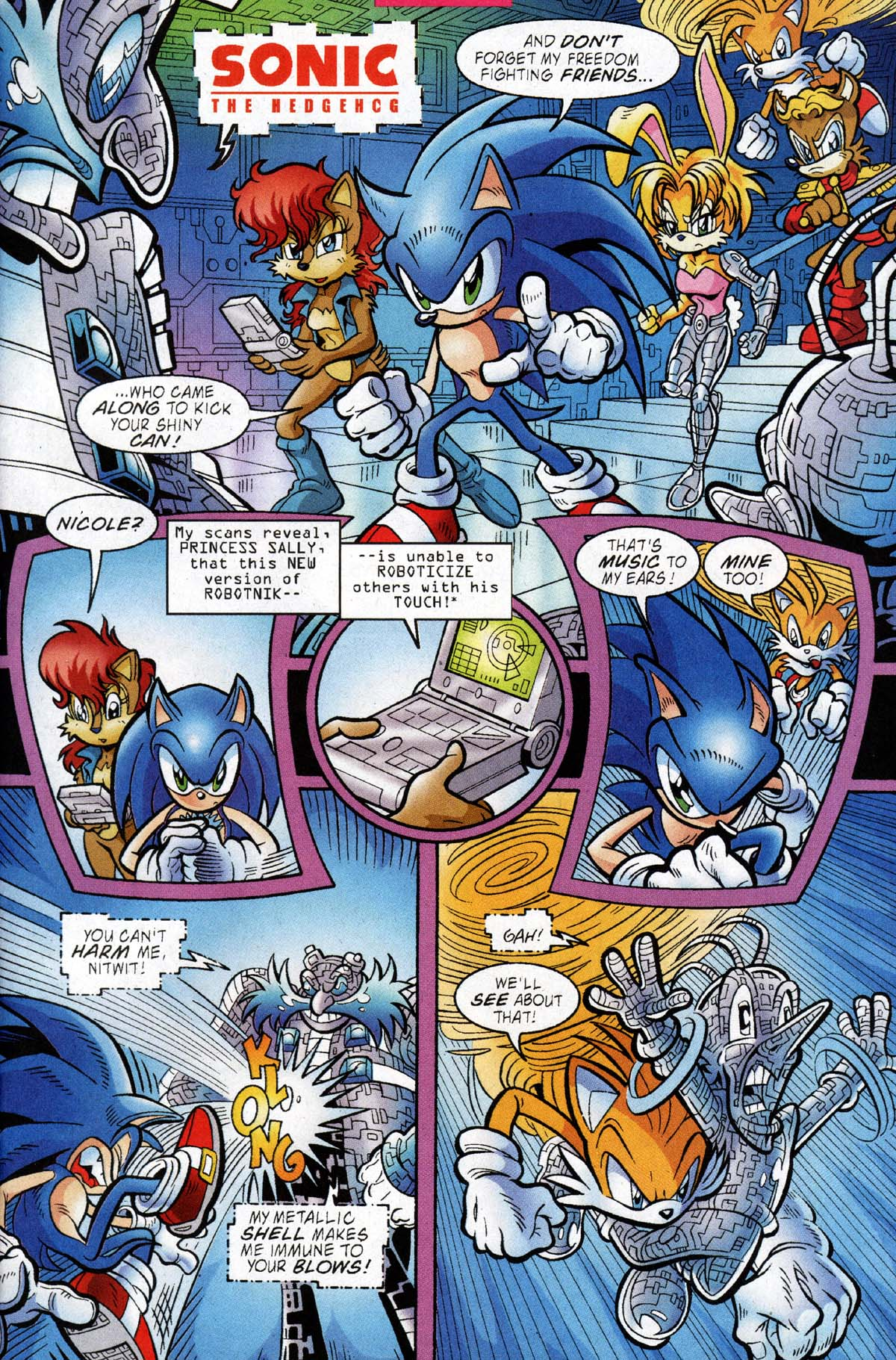 Read online Sonic The Hedgehog comic -  Issue #118 - 4