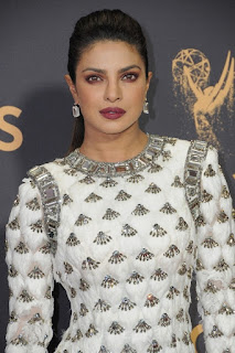 Priyanka Chopra at the 2017 Primetime Emmy Awards