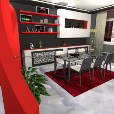 Consigli d 39 arredo il living in muratura la parete attrezzata e la credenza in muratura - Mobile bar da appartamento ...